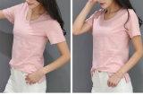 T-shirt de /5 Elastane de coton de Madame Pink T-Shirt Cotton T-Shirt 95