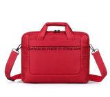 """O saco de nylon do mensageiro do portátil das senhoras simples 14 """", fábrica faz o caderno/portátil Multifunctional único saco de ombro para o desengate do curso e de negócio"""