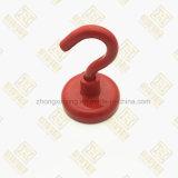 Naar maat gemaakte Rode Bekervormige Magneet, de Magneet van de Pot