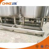 Máquina de lavar Semi auto do sistema da limpeza da unidade do CIP da cervejaria do produto comestível