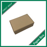 Reciclables OEM Diseño Kraft marrón caja de papel corrugado
