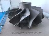 Roue de compresseur du moulage de précision de pièce de bâti de roue de turbine Ulastw1