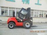 Forklift Hydrostatic de Samuk 3ton 4WD com o motor original de Yanmar