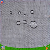 Tela tejida ignífuga impermeable de la cortina del apagón del poliester de la materia textil casera