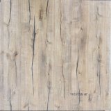 Matériel de construction 600 * 600mm Ink-Jet Wooden Look Rustic Ceramic Floor Tile