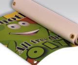 새로운 저가를 가진 디자인에 의하여 인쇄되는 도매 비닐 기치