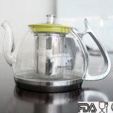 Чайники Borosilicated нержавеющей стали, стеклянный чайник, чай Infuser