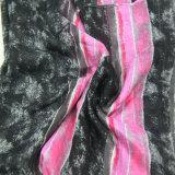 Nuovo accessorio di modo diTintura della sciarpa del poliestere delle donne per la signora Shawl
