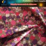 tela do tafetá do poliéster 290t, tela impressa floral do revestimento para o revestimento