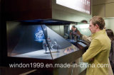 270 пирамидка Holobox витрины индикации Hologram Degreee 3D голографическая рекламируя оборудование