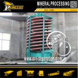 Petite machine à laver d'or de descendeur spiralé de mini de densité séparateur d'or