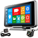 Popularandroid System 5 polegadas Rearview Mirror Car DVR com WiFi / Bluetooth