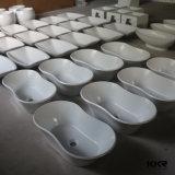Bassin en pierre de salle de bains de meubles de salle de bains de résine