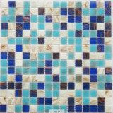 Свет - мозаика синего стекла