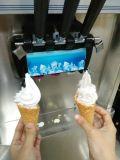 1. Macchina commerciale del gelato con 3 sapori