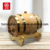 barril de madera modificado para requisitos particulares 5L/10L/20L/100L del almacenaje del vino del roble