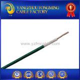 fio trançado da fibra de vidro do silicone Calibre de diâmetro de fios do UL Awm3068 18 de 300V 150c