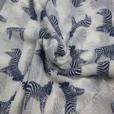De gestreepte Sjaal van de Voile van Af:drukken voor Sjaals van de Winter van de Manier van Vrouwen de Bijkomende