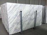 Bancada de pedra de mármore branca de Carrara da qualidade superior