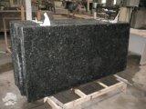 Scala grigio-chiaro Polished naturale della pietra del granito G640 con il bordo di Diffent per esterno/dell'interno