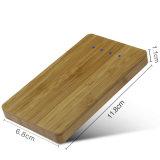 Le pouvoir en bambou USB de promotion de Noël de sortie duelle du cadeau encaisse (PB-Z02A)