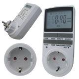 Temporizador de comutação digital Temporizador de saída elétrica semanal