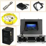 """câmera do dreno da inspeção do esgoto 1200tvl com 7 """" LCD & cartão de 4GB SD"""