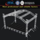 ферменная конструкция освещения ферменной конструкции этапа крыши дуги Половины-Moom алюминия 34X34X26FT