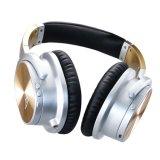 Ruído ativo que cancela o auscultadores, auriculares de alta fidelidade prendidos com o auscultadores da isolação do ruído da Sobre-Orelha do Mic