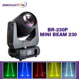 Mini 230 watts das luzes moventes do estágio das cabeças do feixe (BR-230P)