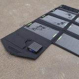 28W 5V USB DC 9V - 18V Chargeur solaire double pliable pour ordinateur portable