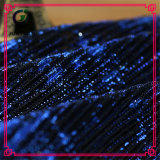 Синяя дешевая оптовая ткань шнурка одежды