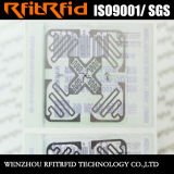 Étiquette imperméable à l'eau remplaçable d'IDENTIFICATION RF de vêtement d'IDENTIFICATION RF de fréquence ultra-haute