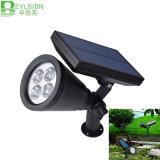 1W 태양 LED 스포트라이트 옥외 점화 정원 램프