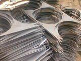 Galvanisierte kundenspezifische Metallochende Teile