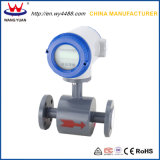 Compteur de débit électromagnétique de l'eau chaude de vente d'usine de la Chine