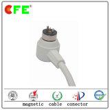 Conetor de potência magnético impermeável com cabo