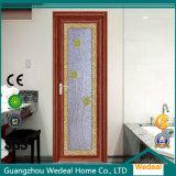 Подгоняйте Tempered стекло сползая алюминиевые двери для проекта (WDYA24)