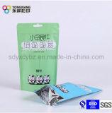Fastfood- Kunststoffgehäuse-Beutel mit Reißverschluss und Handhole für Nahrung