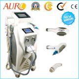 Opt a máquina do laser do Na YAG do RF da remoção do tatuagem do cabelo de Shr da E-Luz do IPL