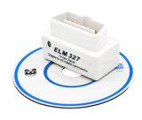 De super Witte Mini Kenmerkende Scanner van de Auto Elm327 Bluetooth OBD2 V2.1 Universele Obdii