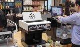 4つのカラー食用インクが付いている芸術のコーヒーか飲み物またはクッキープリンター食糧プリンターチョコレートプリンター
