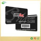 Пластичная карточка PVC, печатание карточки RFID с Barcode (CKT-CB-763)