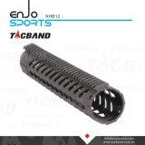 Tacband hochfester (CFC) freier Gleitbetrieb Keymod 12 Zoll Handguard Schiene mit Picatinny Spitzenschienen-Schwarzem