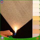 가정 직물 직물 길쌈된 폴리에스테 직물 방수 방연제 정전 커튼 직물