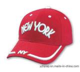 Бейсбольная кепка спортов изготовленный на заказ хлопка Burshed выдвиженческая