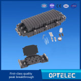 Fermeture d'épissure en fibre optique 2 trous et 2 optiques de sortie