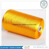 La alta tenacidad teñió el hilado 300d 450d 600d del filamento del rayón viscoso del 100%