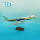판매를 위한 B747-8 가늠자 1:100 73cm 수지 모형 비행기