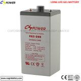 batteria profonda del gel del ciclo di 2V 300ah per energia solare domestica